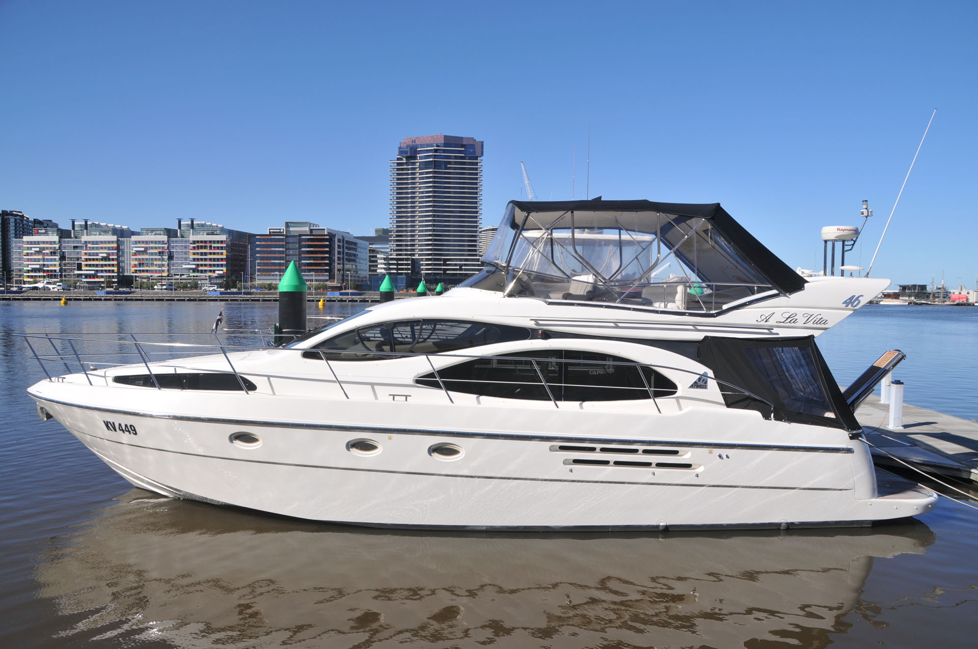 2002 Azimut 46E Flybridge Cruiser